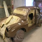 morris minor classic car restoration